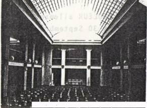 Salle d'exposition 1956