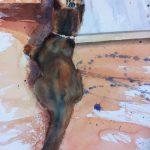 Chaton-miroir-50x385-Aquarelle
