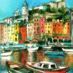 Porto-Venere-30x23-Pastel-sur-papier