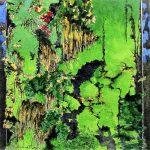 Mur-vegetal-40x40-Aquarelle