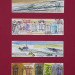 Impressioni-di-viaggio-40x30-Mixte-sur-carte