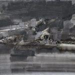Lagune-dhiver-130x97-Huile-sur-toile