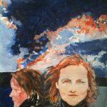 Autoportrait-devant-façade-miroir-120x70-Huile