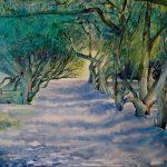 Chemin-de-Pontoval-73x92-Aquarelle-Pastel