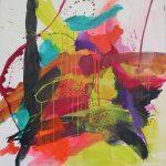 Miroir-de-lame-120x120-Acrylique-sur-toile