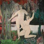 Le-jardin-dEden-130x100-Acrylique-sur-toile
