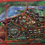 Ville-Jardin-81x160-Acrylique-sur-toile