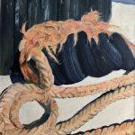 Shipshard - 75x52 - Huile sur toile